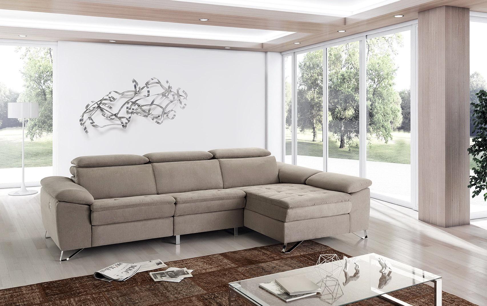 UVE sofá modular relax motorizado by Vizcaíno Tapizados en muebles antoñán® León (2)