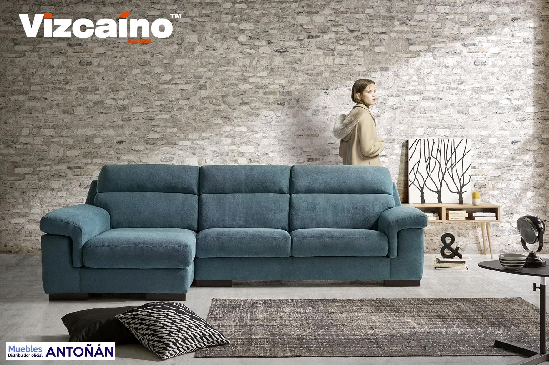 York sof modular fijo by vizca no tapizados muebles anto n for Muebles en leon baratos