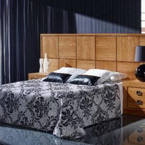 Dormitorio Colonial madera PAG072 EXP37 by Ecopin en muebles antoñán® León