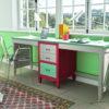 MESA ESTUDIO DOBLE para Dormitorio Juvenil madera 10J3 AMBERES_GRUPOSEYS en muebles antoñán® León