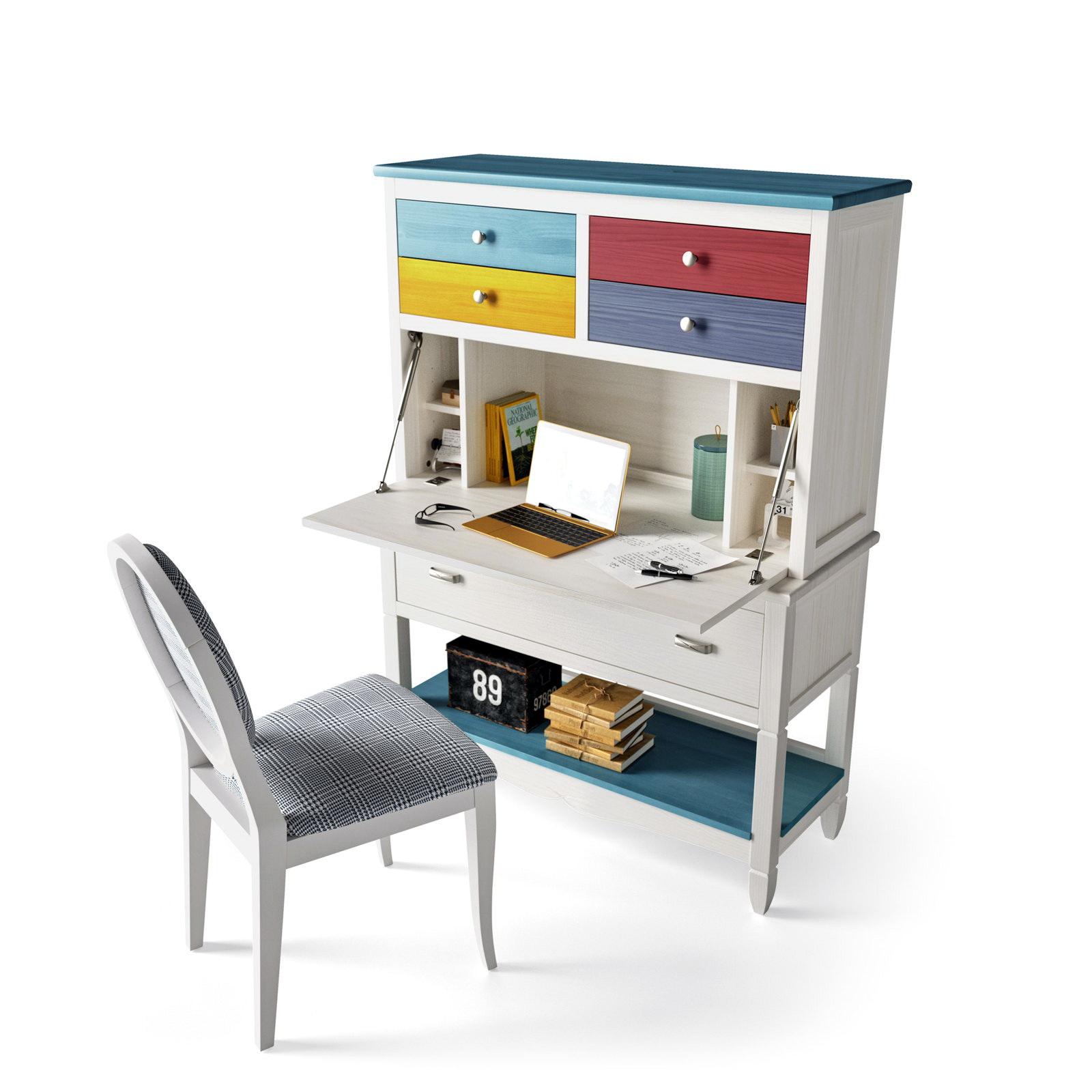 Secreter madera arenada by grupo seys muebles anto n for Muebles de escritorio baratos