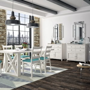 Mueble salón comedor VERONA 22C_1 colección La Mejor Sobremesa madera pino arenado by GrupoSeys en muebles antoñán® León