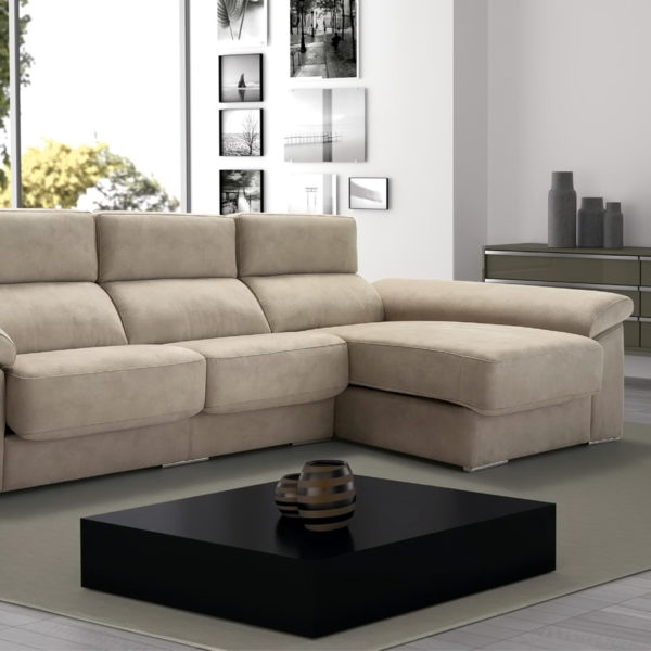 Soria sof chaise longue modular asientos extensibles by for Muebles baratos en leon
