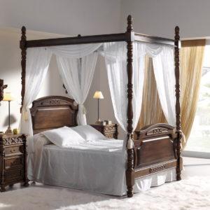 VENECIA dormitorio estilo retro by HÉCORA 07-0441 en muebles antoñán® León
