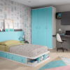 CAMA INFANTIL y JUVENIL con cajones F502 Programa FORMAS19 by Glicerio Chaves en muebles antoñán® León