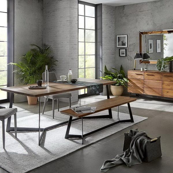 Dugarhome sal n estilo industrial by grupo dupen muebles for Muebles en leon baratos
