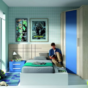 Dormitorio infantil y juvenil DYNAMIC 65 by LAR en muebles antoñán® León