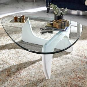 Mesa centro redonda cristal JY-A22.1 by Dugar Home GRUPO DUPEN en muebles antoñán® León
