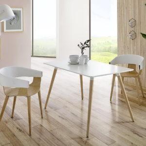 Mesa comedor y sillas Estilo Nórdico PC-451.1+RT-903 by Dugar Home GRUPO DUPEN en muebles antoñán® León