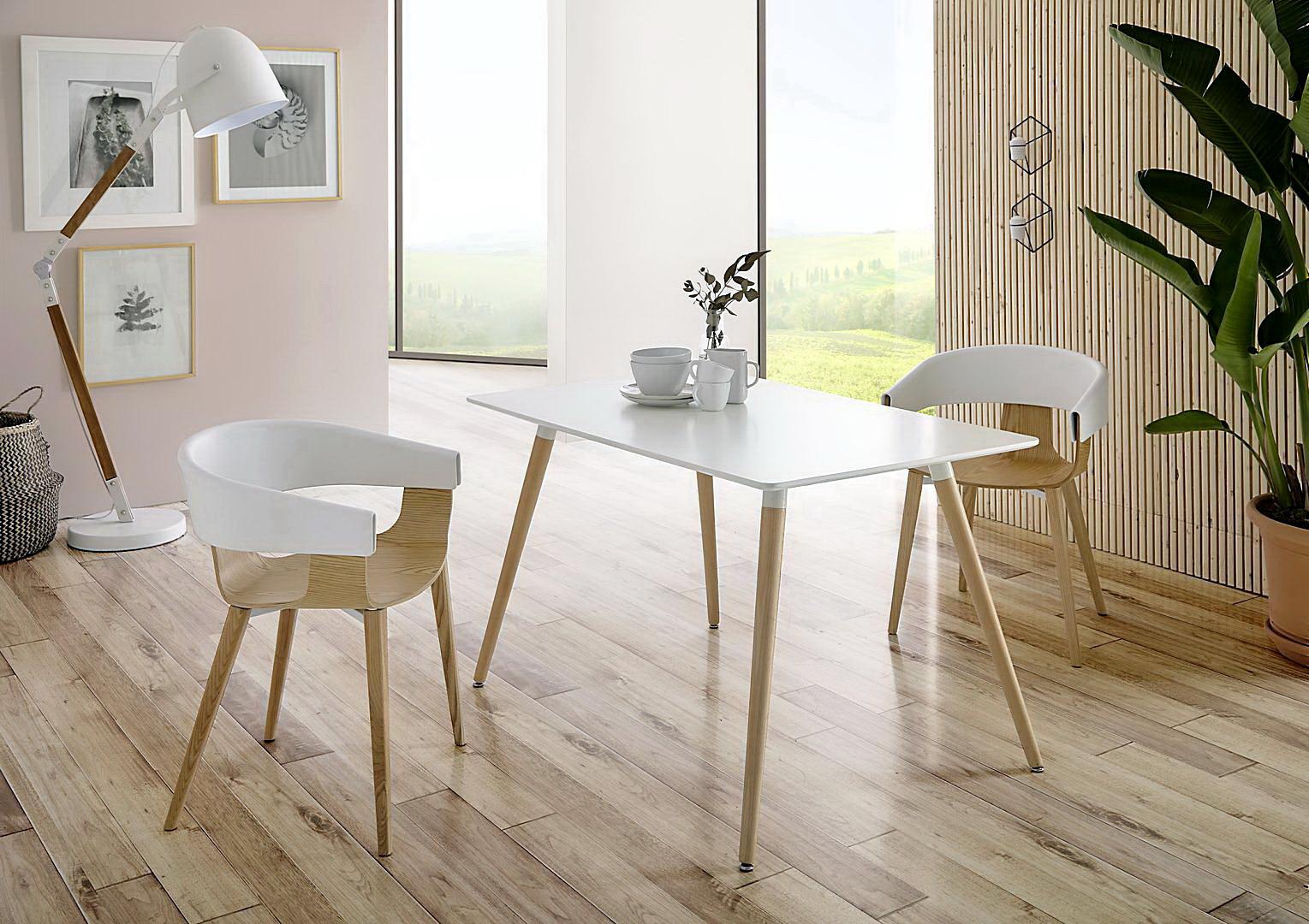 Mesas comedor estilo n rdico by dugarhome muebles anto n for Muebles mesas y sillas