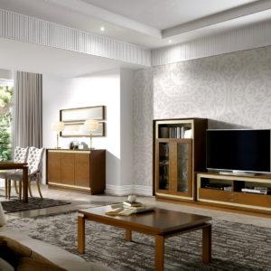 Mueble Salón Moderno ARIADNA ELEGANT NATURMOBEL 12-0085 by Huertas Furniture en muebles antoñán® León