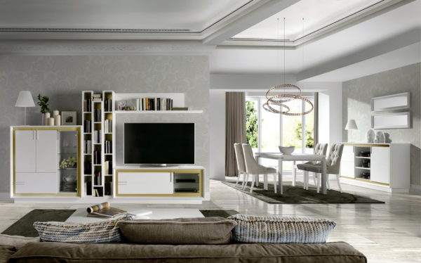 Mueble Salón Moderno ARIADNA MODERN NATURMOBEL 0021B by Huertas Furniture en muebles antoñán® León