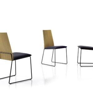 SILLA Estilo Industrial moderno Tora 1 distribuida por muebles antoñán® León