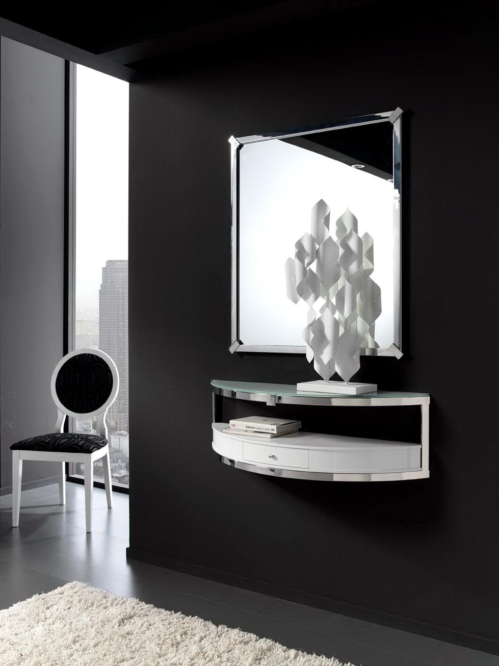 Mueble entrada moderno CONSOLA ANZADI 609.1 by Zache Diseño en muebles antoñán® León