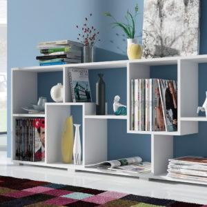 Librerías modernas Low Cost by Herdasa 67140 catálogo Hipanohogar colección Espacios en muebles antoñán® León