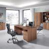 Mesa despacho Low Cost by Herdasa 95141+96041 catálogo Hispanohogar en muebles antoñán® León