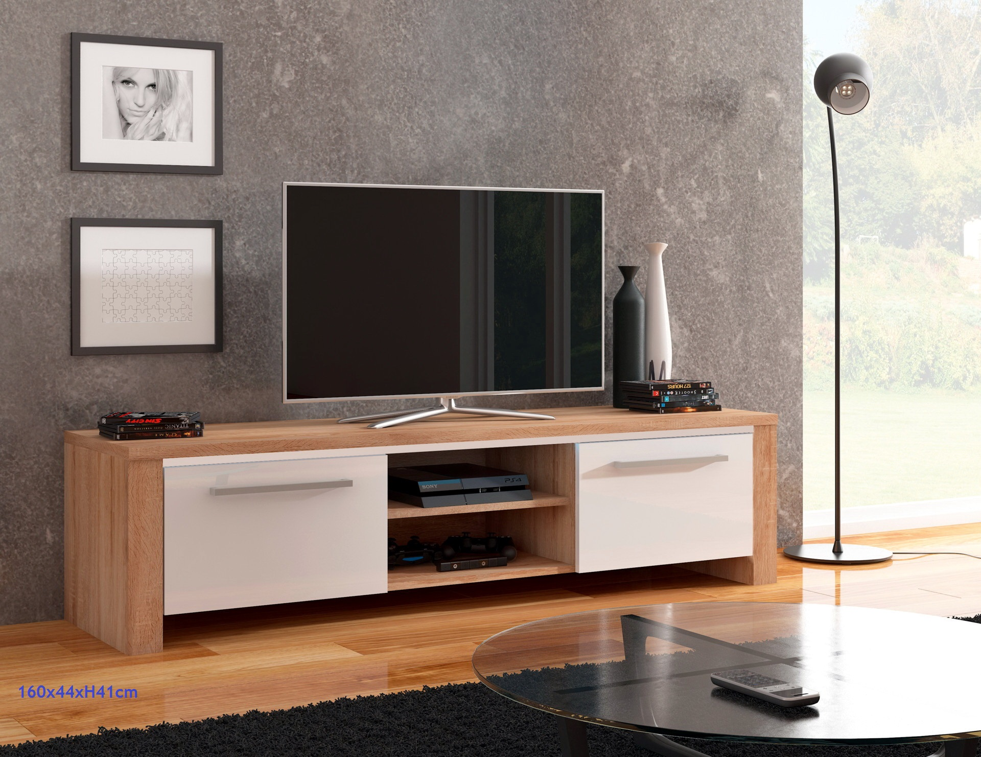 Mesas tv low cost by herdasa muebles anto n - Muebles low cost ...