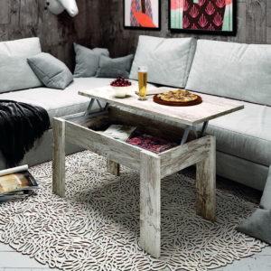 Mesas centro ELEVABLES LOW COST MOON.18- 127.2 by Azor en muebles antoñán® León