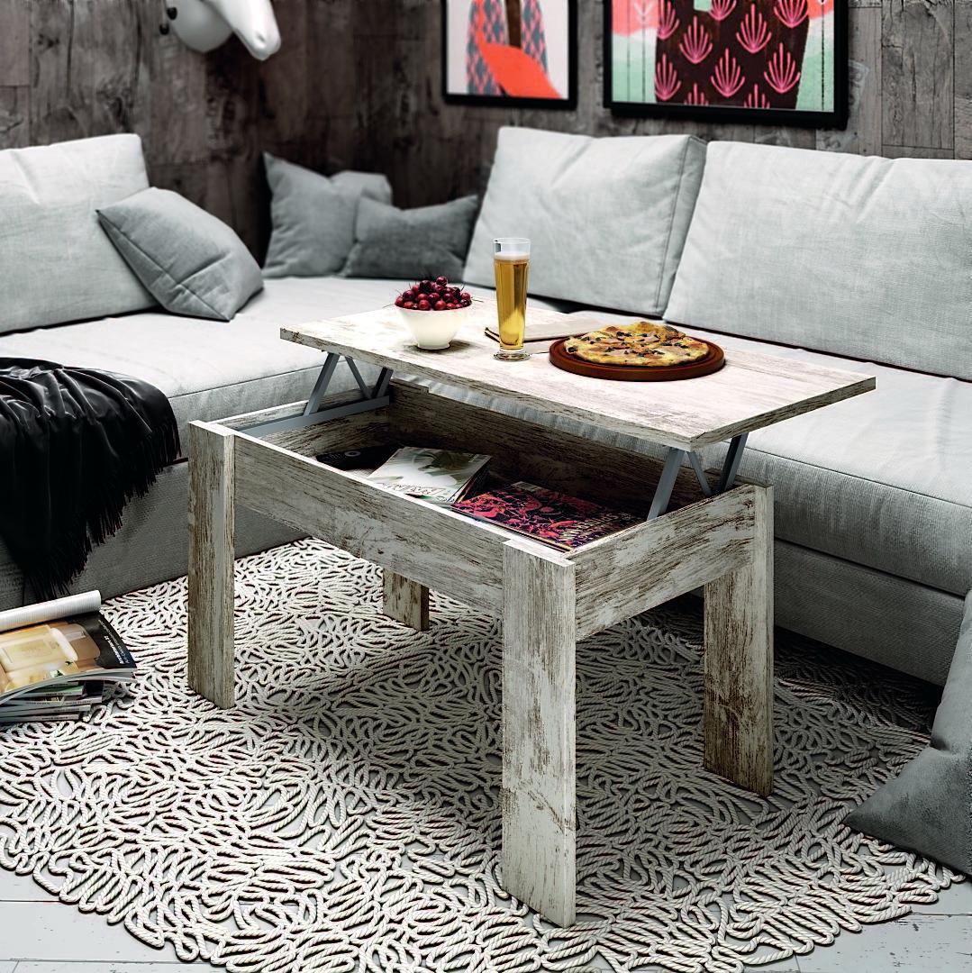 Mesas centro elevables low cost en muebles anto n le n - Muebles low cost ...
