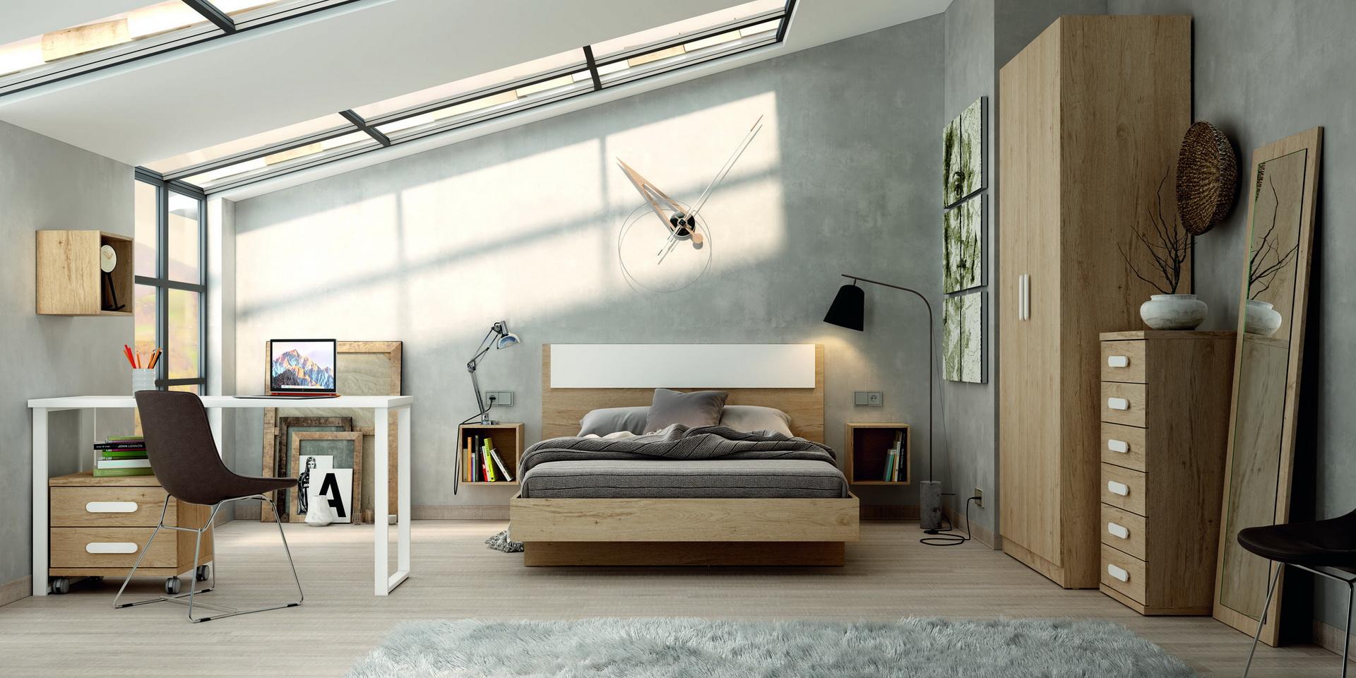 Camas grandes Juvenil LIDER by Azor 040 en muebles antoñán® León
