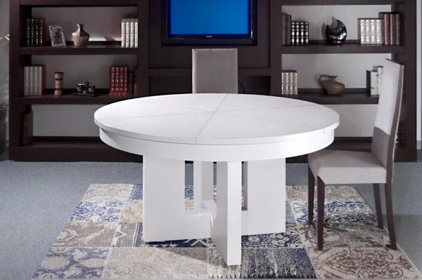 Mesa REDONDA comedor by Artenogal detalle 13.1 en muebles antoñán® León