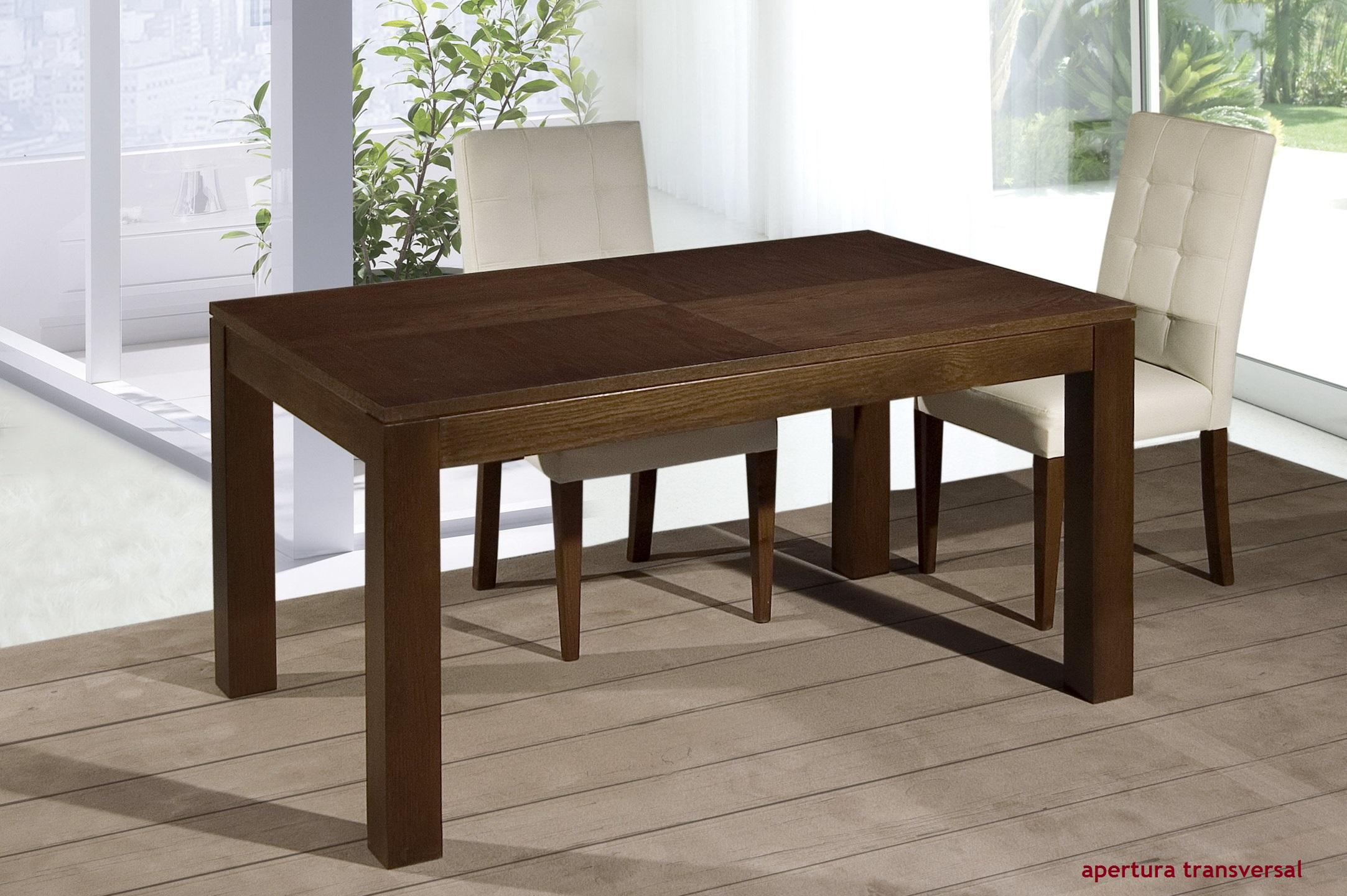 Mesas comedor Estilo Neoclásico by Artenogal 05.1 extensible transversal en muebles antoñán® León