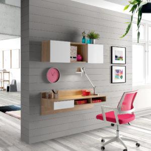 Mesas ordenador Low Cost by Herdasa 67240 + 67250 + 75321 en muebles antoñán® León