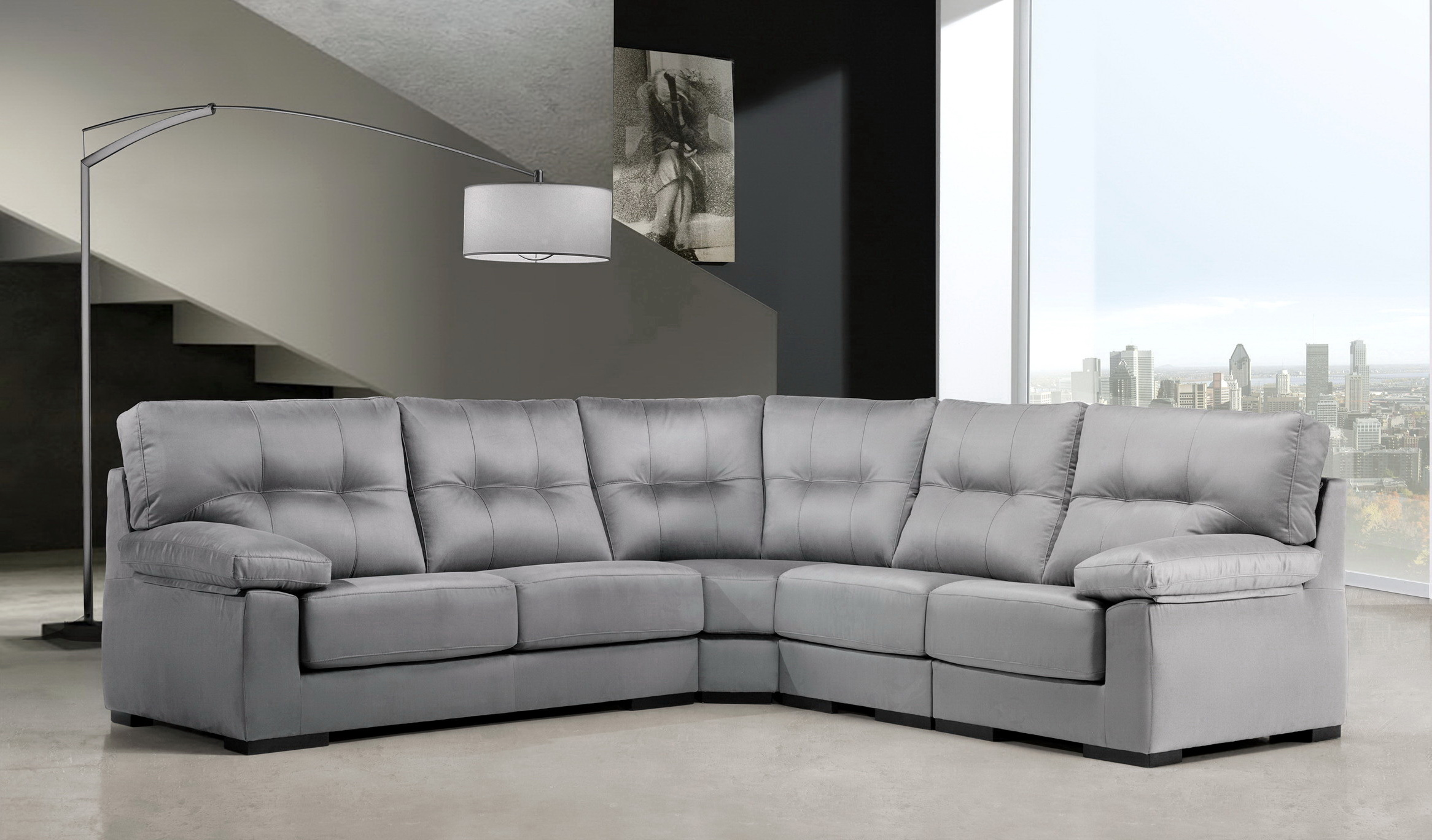 TOTTI sofá modular rinconera by Piccolo Confort 01 en muebles antoñán® León