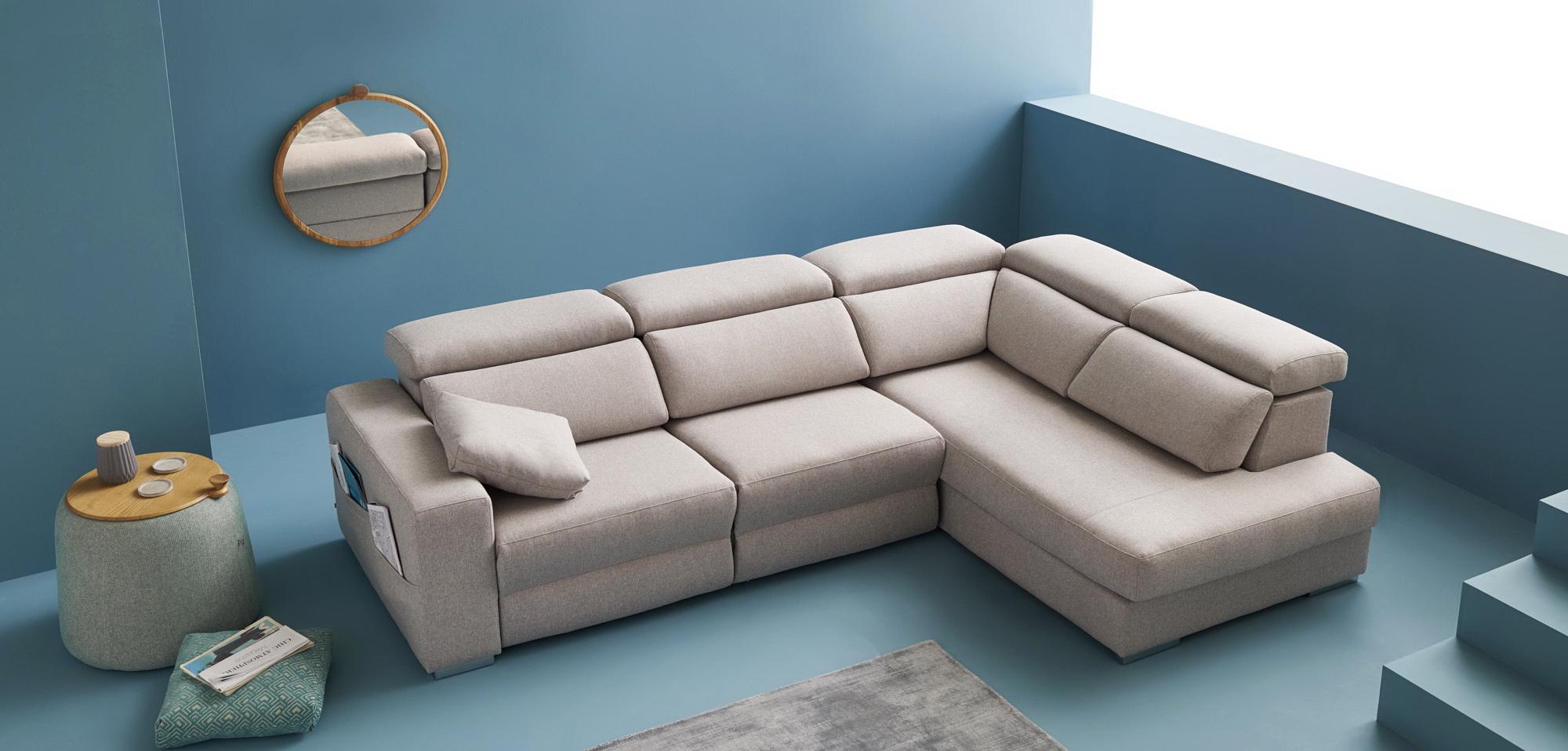 MUSTANG sofá modular asientos relax o fijos by Reyes Ordoñez SOFÁ RINCONERA 01.1 de venta en Muebles ANTOÑÁN León