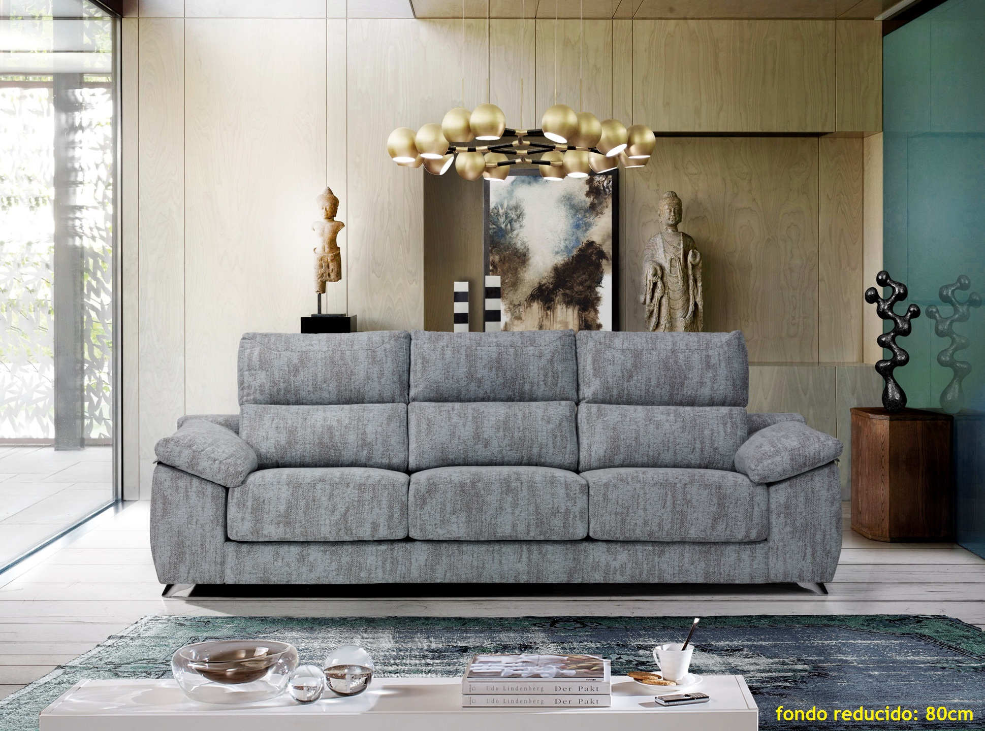 UNAI sofá modular fondo 80cm by Píccolo Confort 01 de venta en Muebles Antoñán León