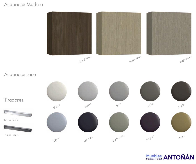 COLORES Aparadores Modernos Lacados by Heresshome modelo VINTASS de venta en Muebles Antoñán León