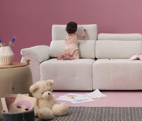 MILANO sofá modular asientos extensibles by Reyes Ordoñez Sofá Milano_sofá 1 de venta en MUEBLES ANTOÑÁN