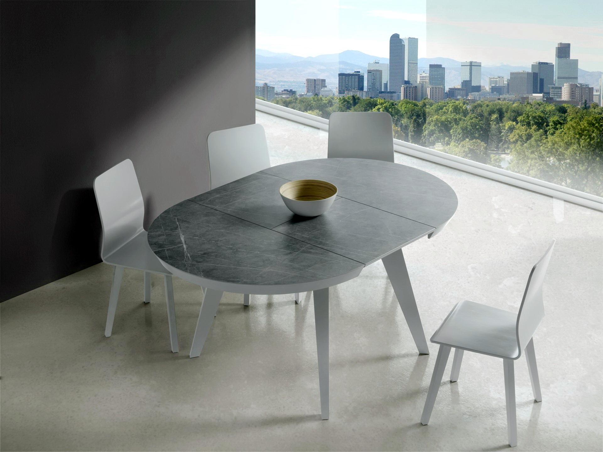 Mesa REDONDA comedor by Edición Mobiliario en Muebles Antoñán León