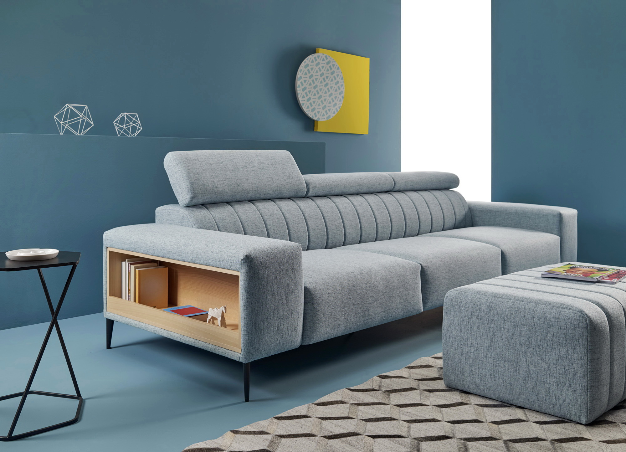 ORIGEN Acolchado sofá asientos fijos by Reyes Ordoñez SOFÁ 4 PLAZAS 01.1 de venta en Muebles ANTOÑÁN León