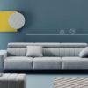 ORIGEN Acolchado sofá asientos fijos by Reyes Ordoñez SOFÁ 4 PLAZAS 01.2 de venta en Muebles ANTOÑÁN León