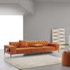 ORIGEN Capitoné sofá asientos fijos by Reyes Ordoñez SOFÁ 4 PLAZAS 01.1 de venta en Muebles ANTOÑÁN León