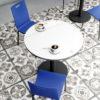 Catálogo Mesas cocina REDONDAS by Mesinor ENIA MESA REDONDA 05.1 de venta en Muebles ANTOÑÁN León