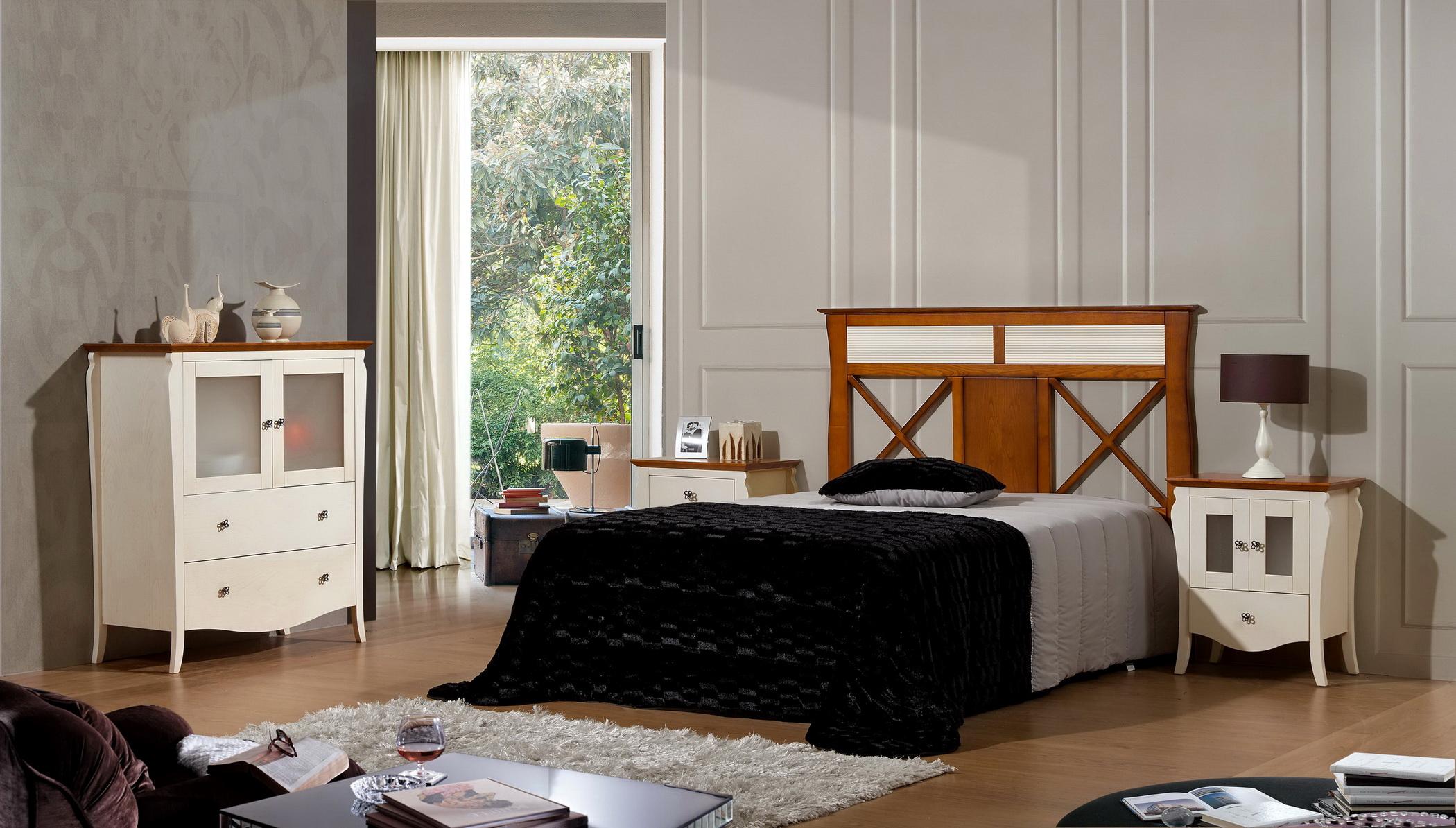 Dormitorios en madera maciza de castaño by JBM 0192 de venta en Muebles ANTOÑÁN León