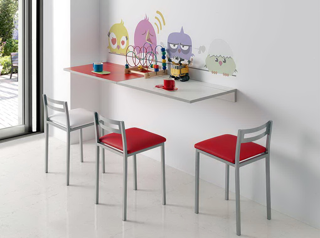 Mesa cocina PLEGABLE PARED by CMC Unique Pondecor en Muebles Antoñán