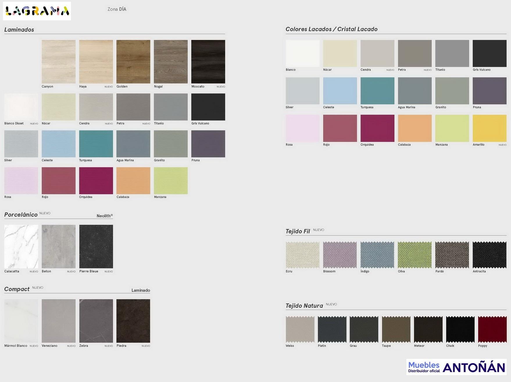 colores NOCHE dormitorio moderno by Lagrama LifeBox&AddLiving Catálogo MUEBLES ANTOÑÁN