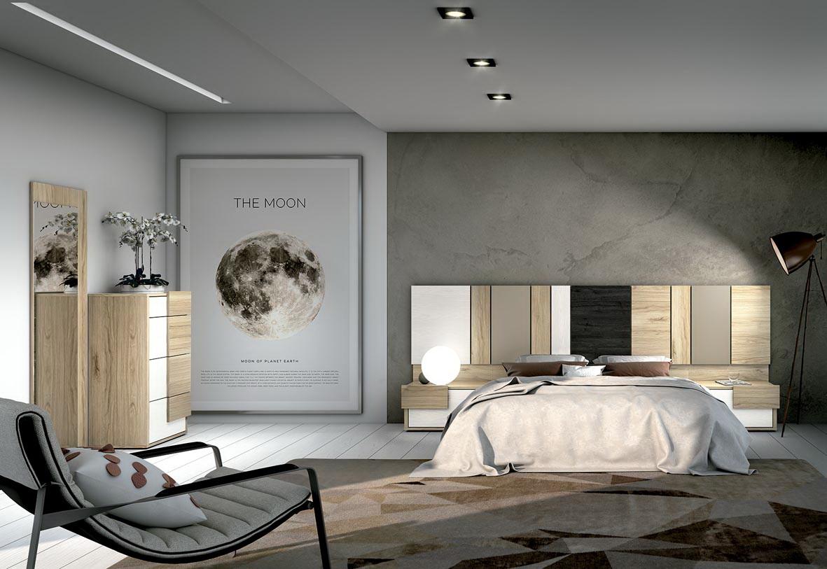 DUE dormitorios modernos by Salcedo DUE 01 A Y B de venta en Muebles ANTOÑÁN León