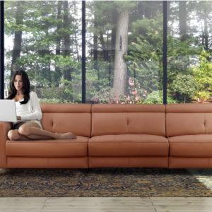 DINO sofá modular relax eléctrico by Pedro Ortiz SOFÁ DINO 3 PLAZAS 01.2 de venta en Muebles ANTOÑÁN León