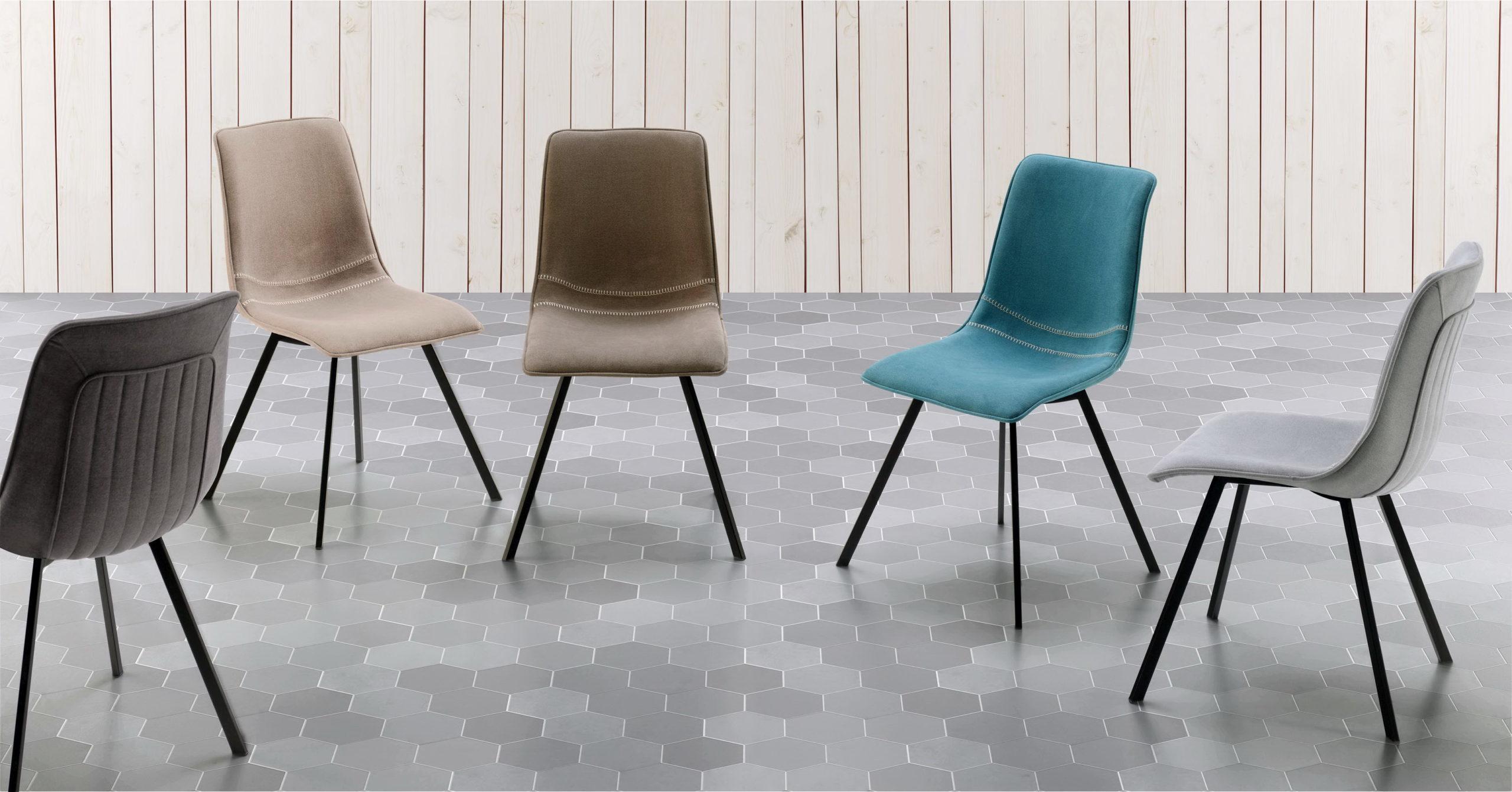 Sillas modernas de importación by Seres silla CONCHA de venta en MUEBLES ANTOÑÁN León