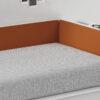 Habitaciones Juveniles INFINITY 2 by JotaJotaPe 27-NEST-tapizado-naranja venta en MUEBLES ANTOÑÁN León