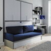 Habitaciones Juveniles INFINITY 2 by JotaJotaPe 45-cama-abatible-con-sofa venta en MUEBLES ANTOÑÁN León
