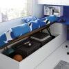 Habitaciones Juveniles INFINITY 2 by JotaJotaPe 49-canape-elevable venta en MUEBLES ANTOÑÁN León