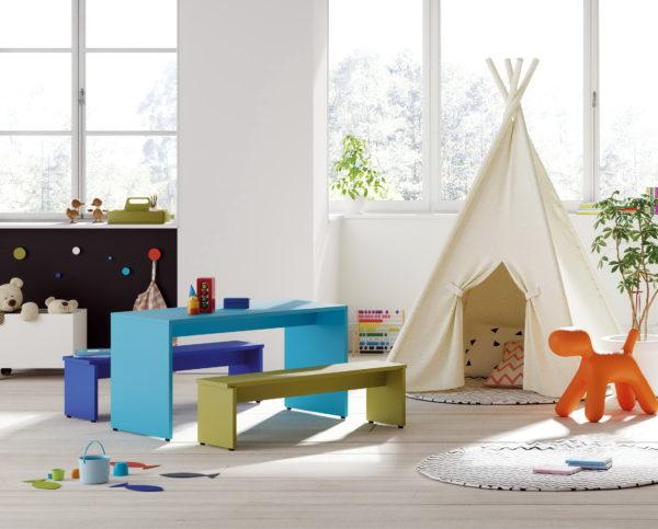 MINIMESA NIÑOS by JotaJotape INFINITY 2 JJP 06_mesa habitacion-infantil venta en MUEBLES ANTOÑÁN León