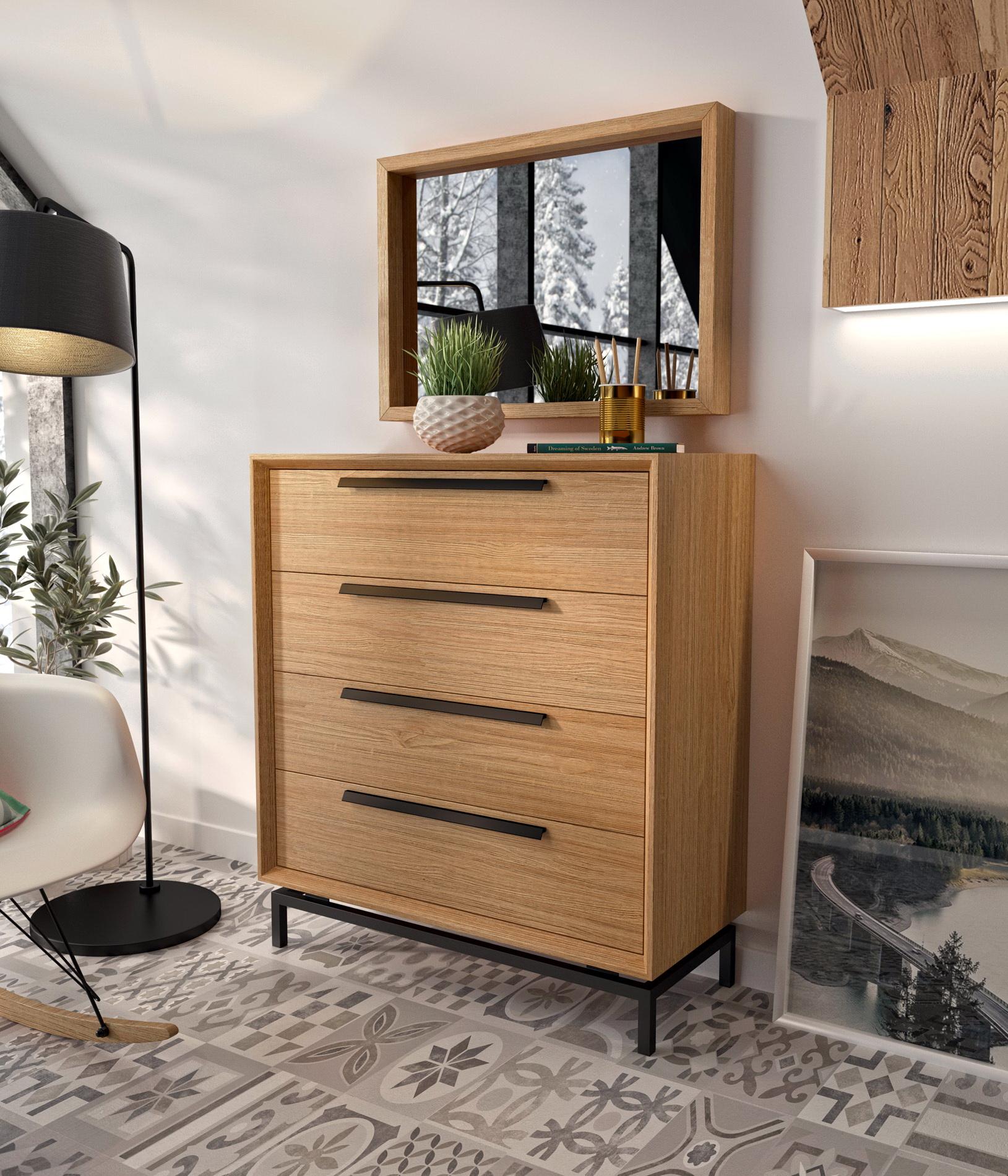 Cómoda dormitorio by Divogue Grupo Seys GS_COMODA ESTORIL_CIC1 de venta en MUEBLES ANTOÑÁN León