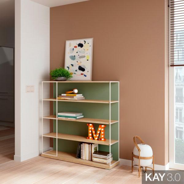 Estantería catálogo Moderno Kay 3.0