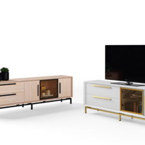 Mesa TV madera pino by Divogue Grupo Seys GS_MUEBLES TV ESTORIL_CIC1 venta en MUEBLES ANTOÑÁN León